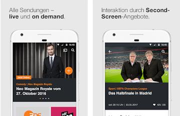 Capture d'écran ZDFmediathek