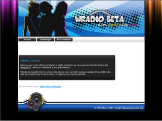 Capture d'écran WRadio
