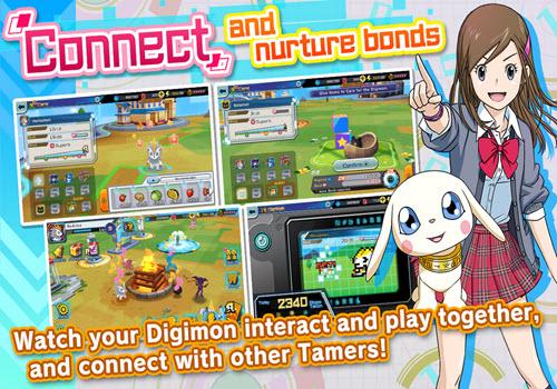 Capture d'écran Digimon ReArise iOS