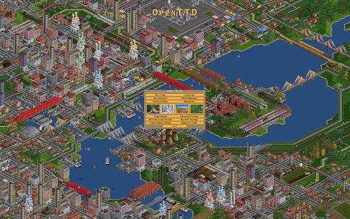 Capture d'écran OpenTTD