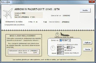 Capture d'écran AIRCRAFT MANAGER II