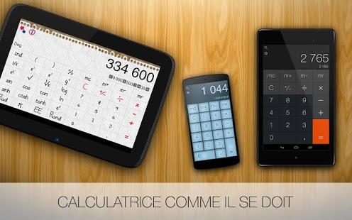 Capture d'écran Calculatrice Pro