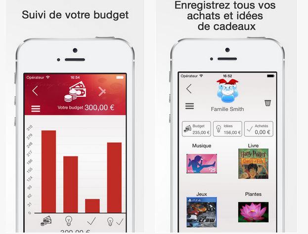 Capture d'écran Cadeaux de Noël iOS
