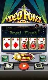 Capture d'écran AE Video Poker