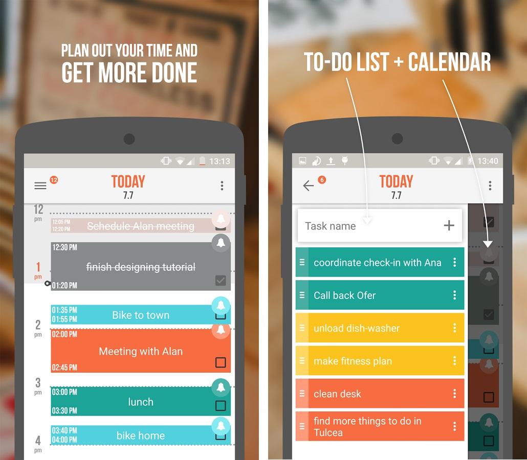 Capture d'écran Accomplish : nouvelle Todolist android