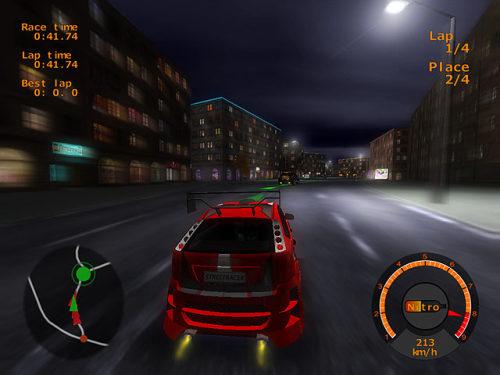 Capture d'écran Street Racing Club