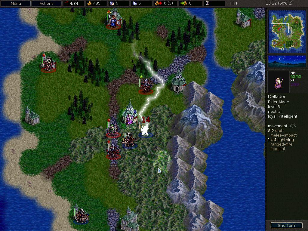 Capture d'écran Battle For Westnoth