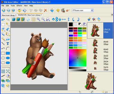 Capture d'écran Sib Icon Editor