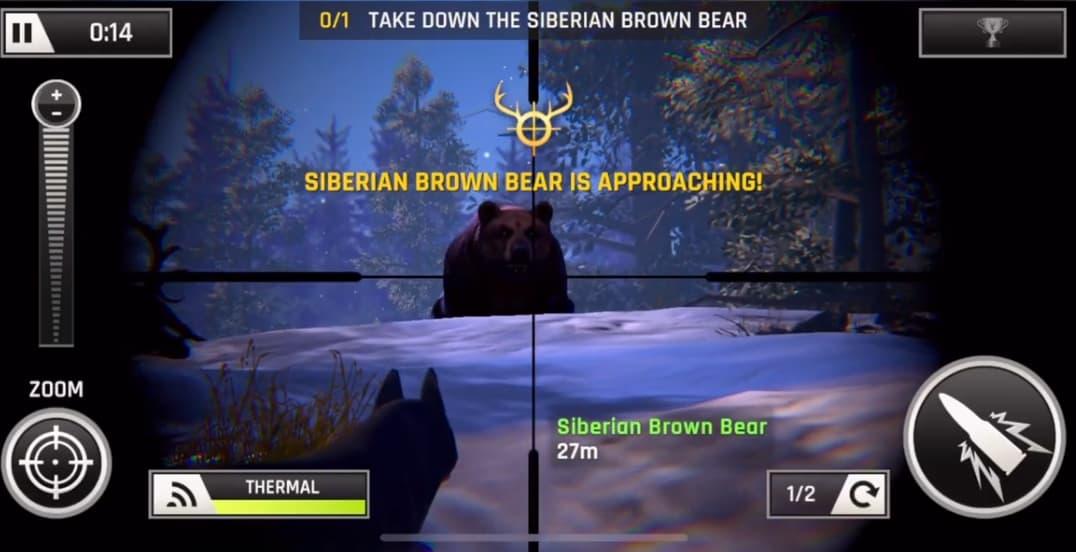 Capture d'écran Deer Hunter 2020 iOS