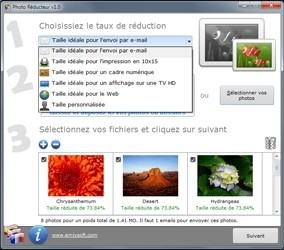 Capture d'écran Photo Réducteur Mac