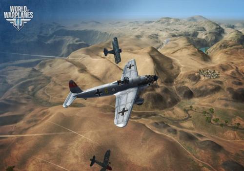 Capture d'écran World of Warplanes
