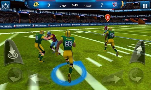 Capture d'écran Rugby Fanatique