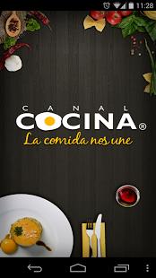 Capture d'écran Canal Cocina