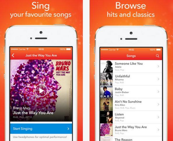 Capture d'écran Singa iOS
