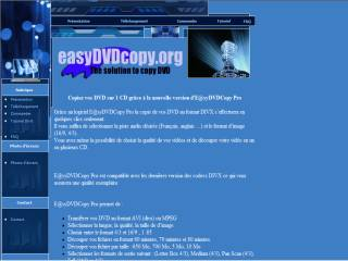 Capture d'écran E@syDVDCopy++