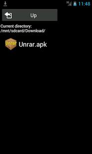 Capture d'écran Installateur d'APK