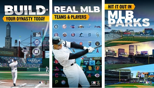 Capture d'écran MLB Tap Sports Baseball 2020 Android