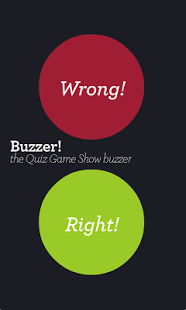 Capture d'écran Buzzer! Quiz game show buzzer