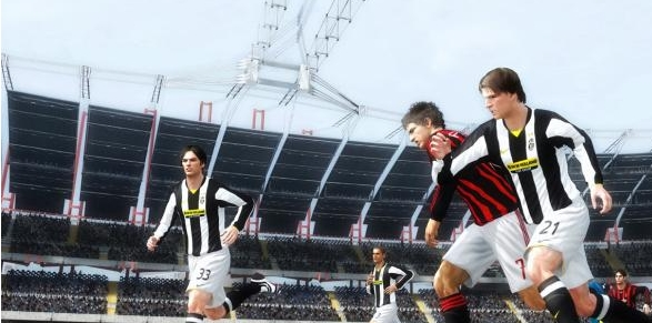 Capture d'écran FIFA 10