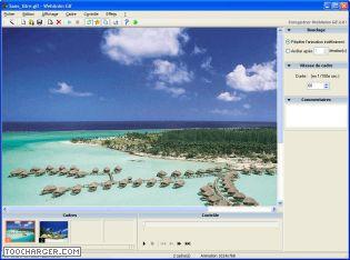 Capture d'écran WebAnim Gif