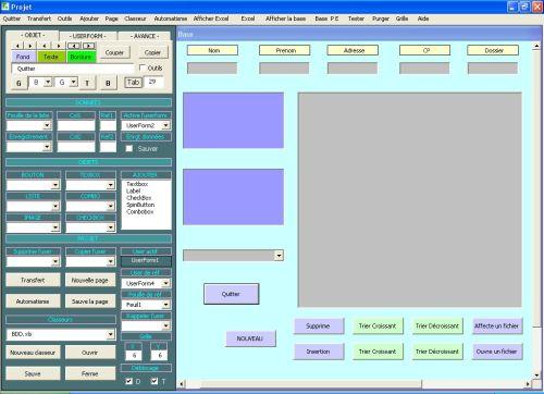 Capture d'écran Mon formulaire Excel