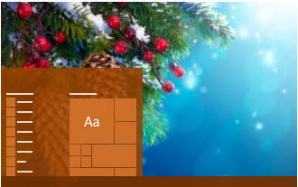 Capture d'écran Nouvel An Thème Windows 10