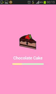 Capture d'écran Gâteau au chocolat