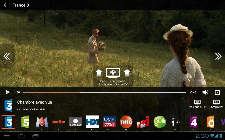 Capture d'écran TV d'Orange Windows Phone