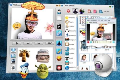 Capture d'écran WE Free Webcam Effects