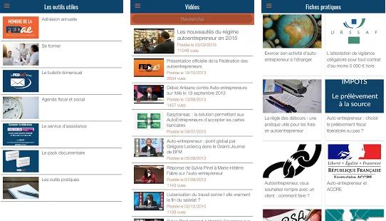 Capture d'écran Autoentrepreneur Pratique Android