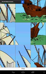 Capture d'écran Puzzle Enfants, l'anglais