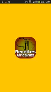 Capture d'écran Recettes de cuisine Africaine