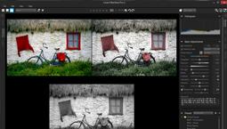 Capture d'écran Corel AfterShot Pro