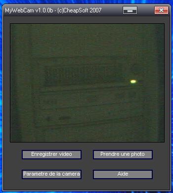 Capture d'écran MyWebCam