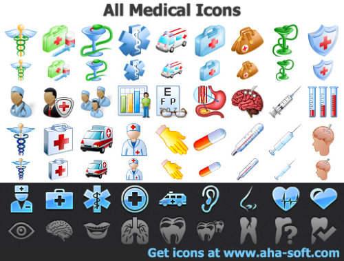 Capture d'écran All Medical Icons