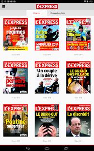 Capture d'écran L'Express – Magazine