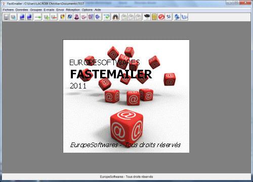 Capture d'écran FastEmailer