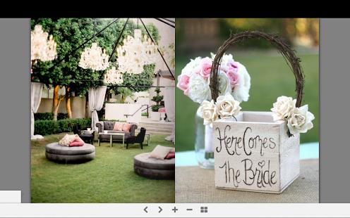 Capture d'écran Idées de mariage