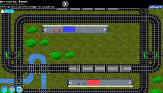 Capture d'écran Train Tracks Lite
