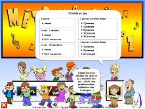 Capture d'écran Métronimo Quiz