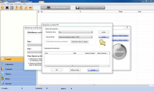 Capture d'écran Microsoft® Outlook® PST Repair