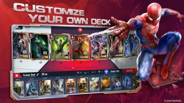 Capture d'écran Marvel Duel Android