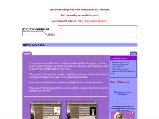 Capture d'écran Super cocktail 2004