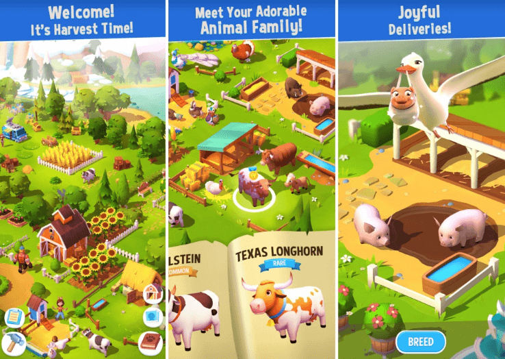 Capture d'écran FarmVille 3 : Animals ios