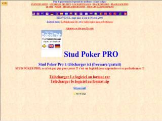 Capture d'écran Stud Poker pro
