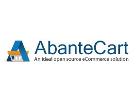 Capture d'écran AbanteCart