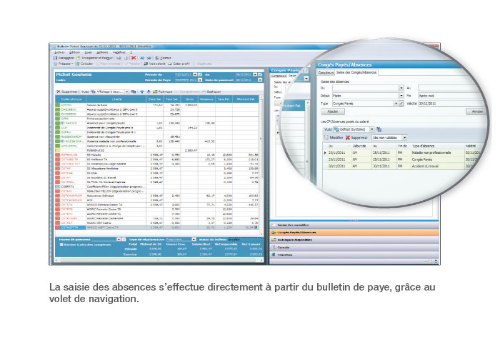 Capture d'écran EBP Paye Bâtiment