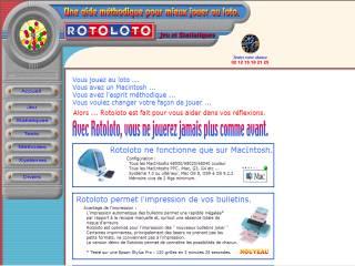 Capture d'écran ROTOLOTO™