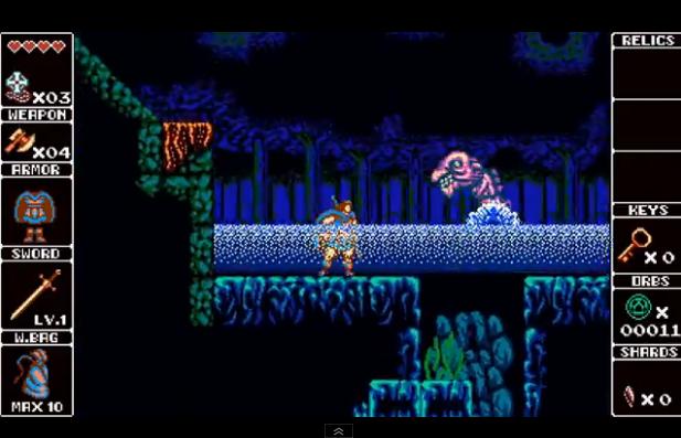 Capture d'écran Odallus : The Dark Call