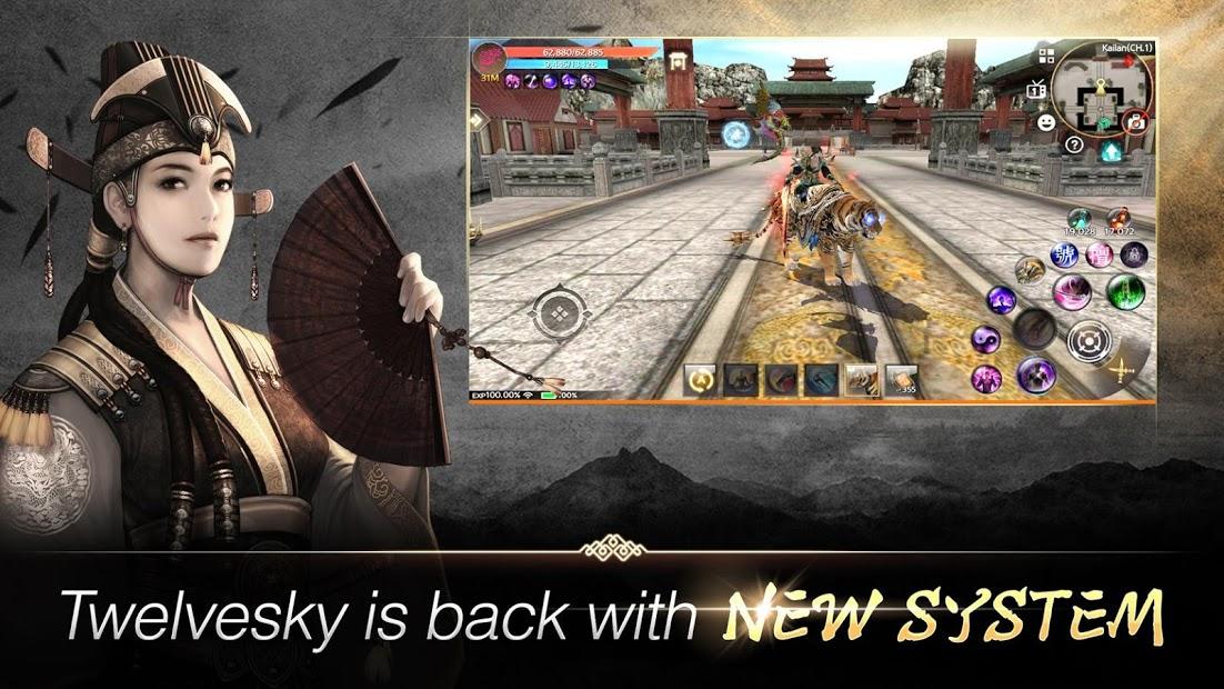 Capture d'écran TwelveSky M Android